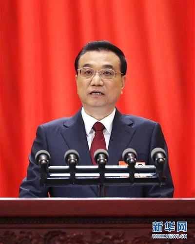 3月5日,第十三届全国人民代表大会第一次会议在北京人民大会堂开幕。国务院总理李克强作政府工作报告。
